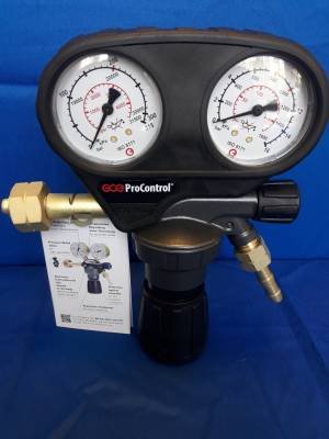 Imagine 1 Regulator de presiune Gaz Test ProControl 200/10bari
